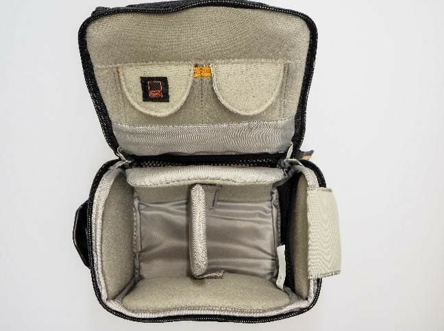 A picture containing indoor, accessory, bag, case  Description automatically generated