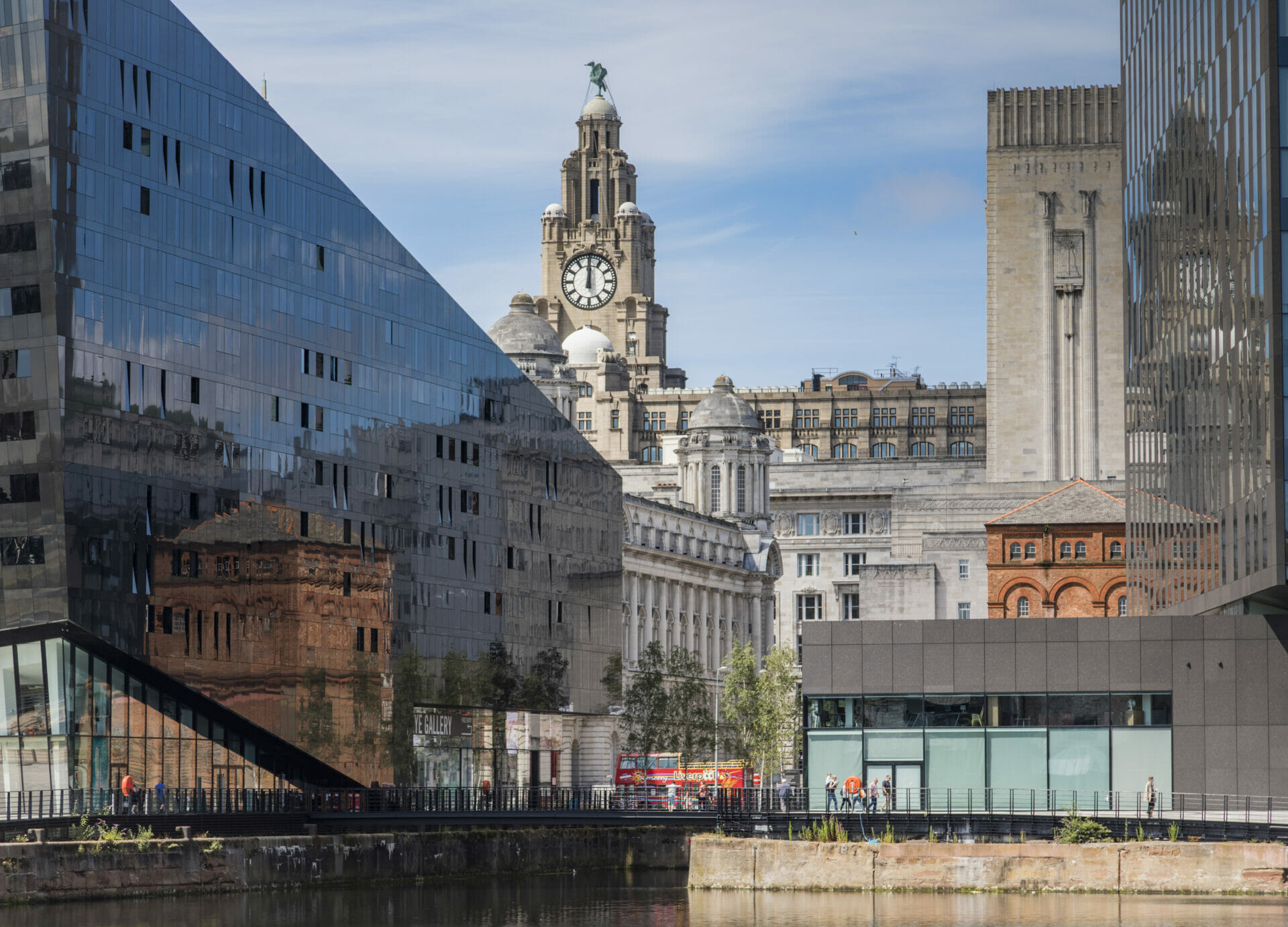 Photograph of building in Liverpool including. Taken on a Welshot Photographic Academy workshop