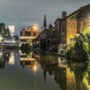 Photo taken in lowlight along the Shropshire Union Canal in Chester. Photo taken by Mark Carline