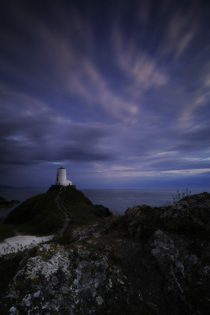 Photo of sunset on Llanddwyn Island on Anglesey North Wales - Taken on a Welshot Photographic Workshop
