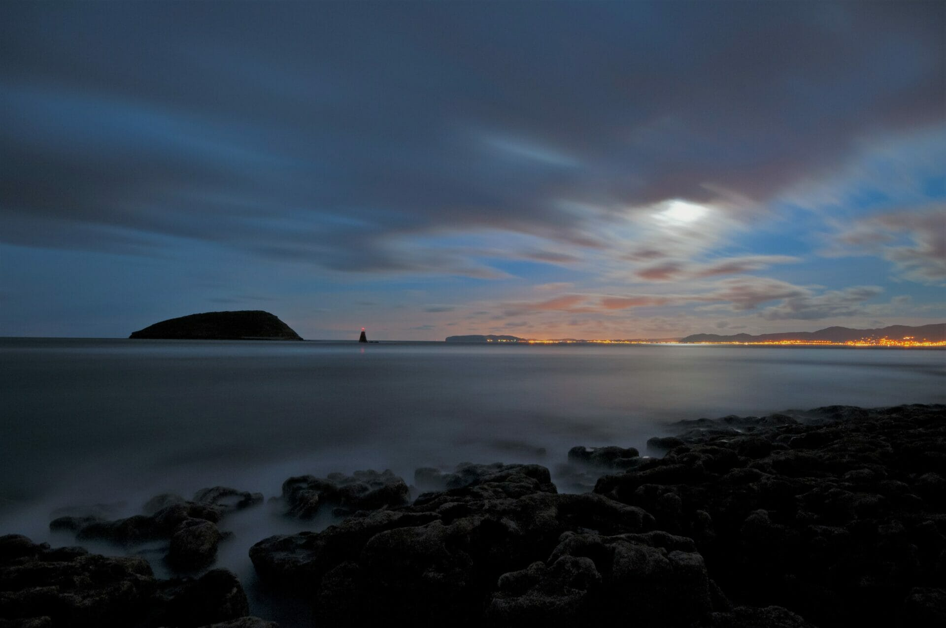 Photo of Night Sky at Penmon Point on Anglesey - Taken on a How To Photograph The Night Sky Welshot Photographic Academy Event.
